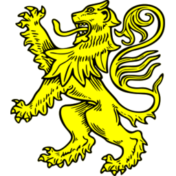 Download free yellow lion animal icon