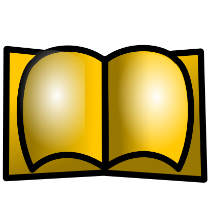 Download free yellow book icon