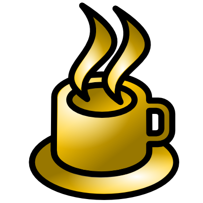 Download free yellow cup coffee icon