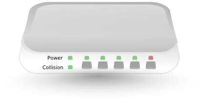 Download free hub switch port icon