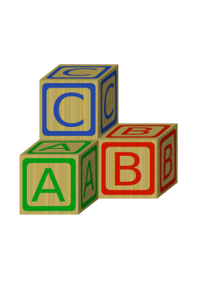 Download free letter cube dice icon