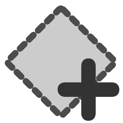 Download free grey square more icon