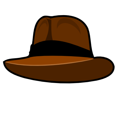 Download free brown hat icon