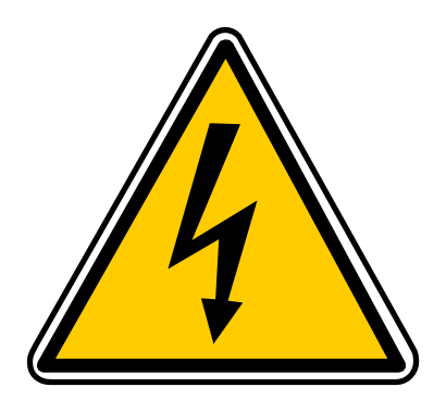 Download free yellow thunderbolt triangle danger icon