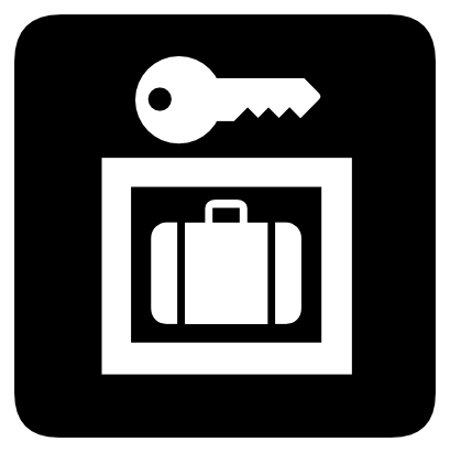 Download free key suitcase icon