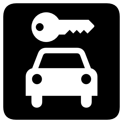 Download free key parking car icon