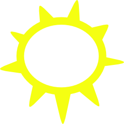 Download free yellow sun icon