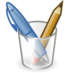 Download free pencil pot office icon