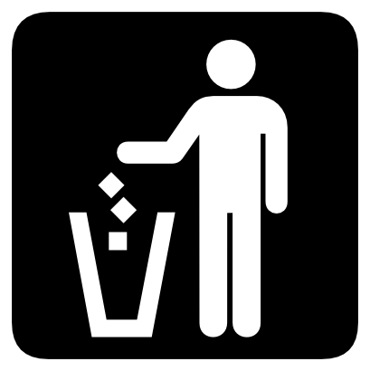 Download free trash person icon