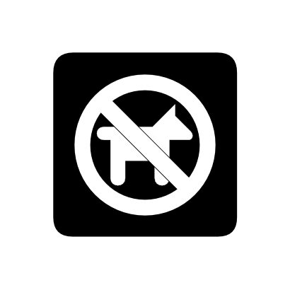 Download free animal prohibited icon
