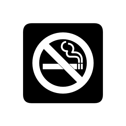 Download free prohibited cigarette smoke icon