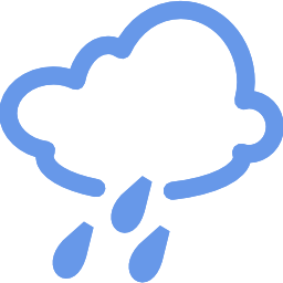 Download free weather cloud rain icon