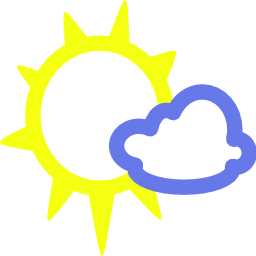 Download free sun weather cloud icon