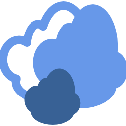 Download free blue weather cloud icon