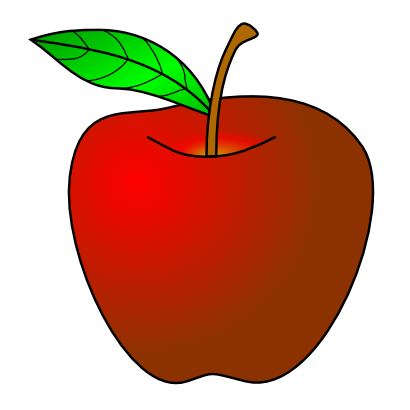 Download free sheet red apple food fruit icon