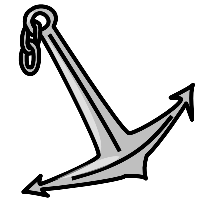 Download free anchor boat icon