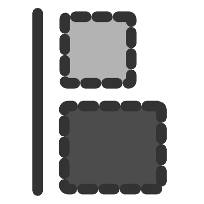 Download free grey square icon