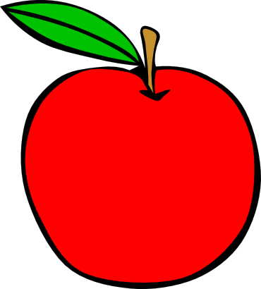 Download free red apple food fruit icon