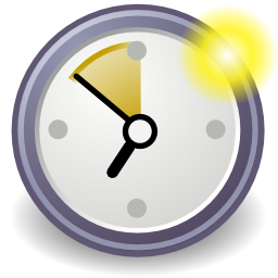 Download free clock hour appointment icon