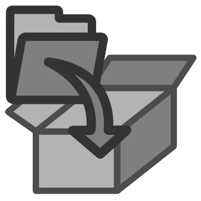 Download free folder box icon