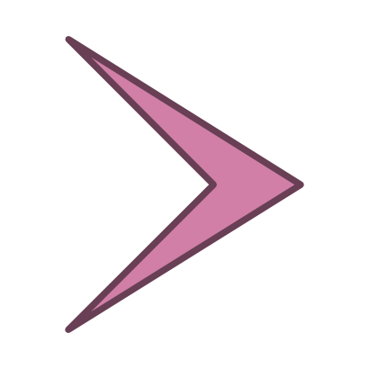 Download free arrow right violet icon