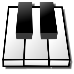 Download free fingerboard keyboard piano instrument icon