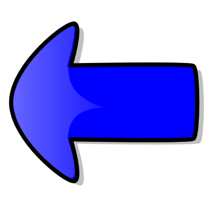 Download free blue arrow left icon