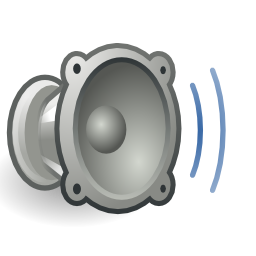 Download free audio grey volume icon