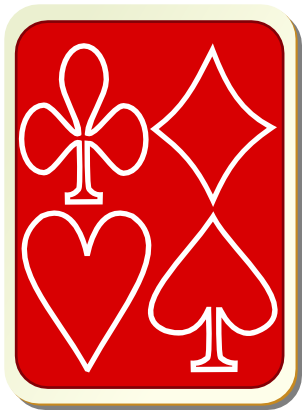 Download free game card heart spades clubs tile icon