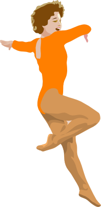 Download free woman sport gymnastics icon