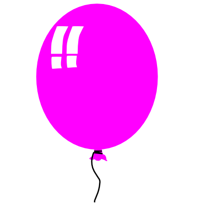 Download free balloon pink icon
