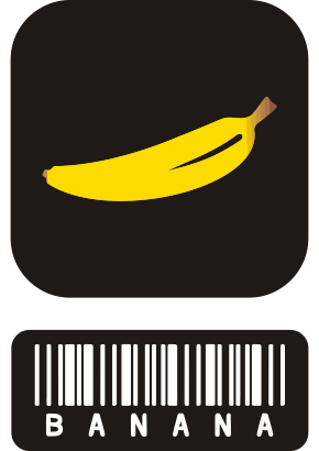 Download free food barcode fruit banana icon