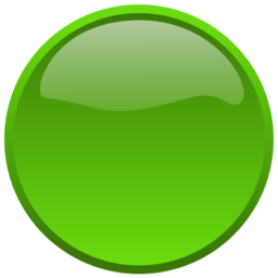 Download free round green button icon