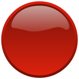 Download free red round button icon