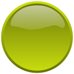 Download free yellow round button icon
