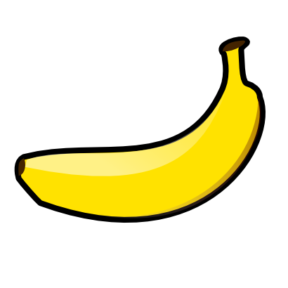 Download free food fruit banana icon