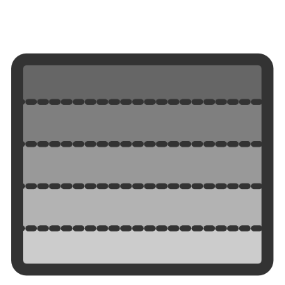 Download free grey bar rectangle icon