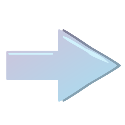 Download free blue arrow right icon
