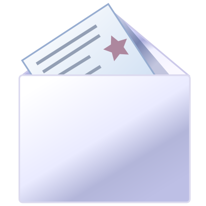 Download free letter courier mail icon