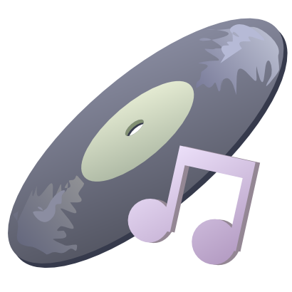 Download free music note cd icon