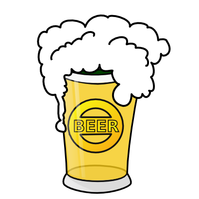 Download free food beer drink glass icon