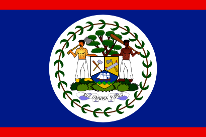 Download free flag belize country icon