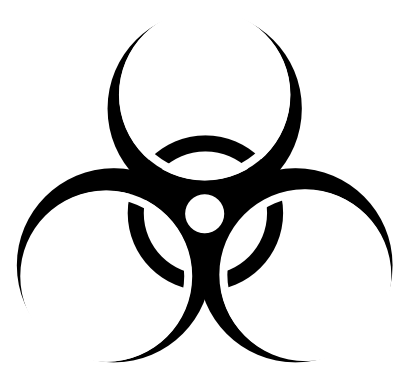 Download free biology risk icon