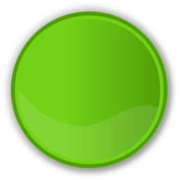 Download free round green circle icon
