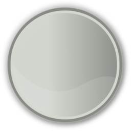 Download free grey round circle icon