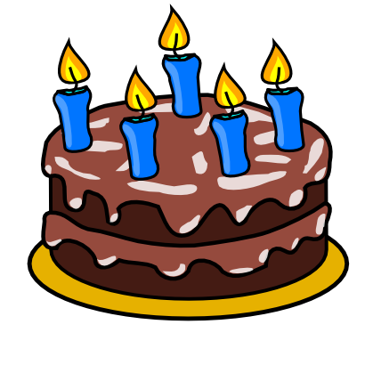 Download free cake candle birthday icon