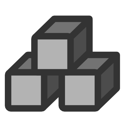 Download free grey cube icon