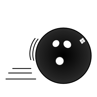 Download free billiard ball bowling icon