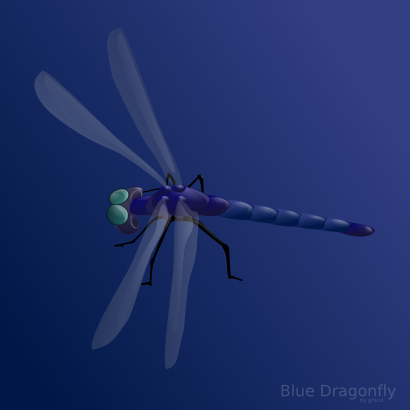 Download free animal insect dragonfly icon