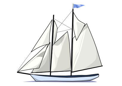 Download free transport boat sailing icon